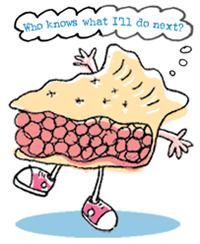 wondering pie